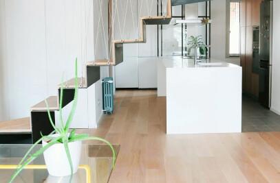 Duplex in Madrid
