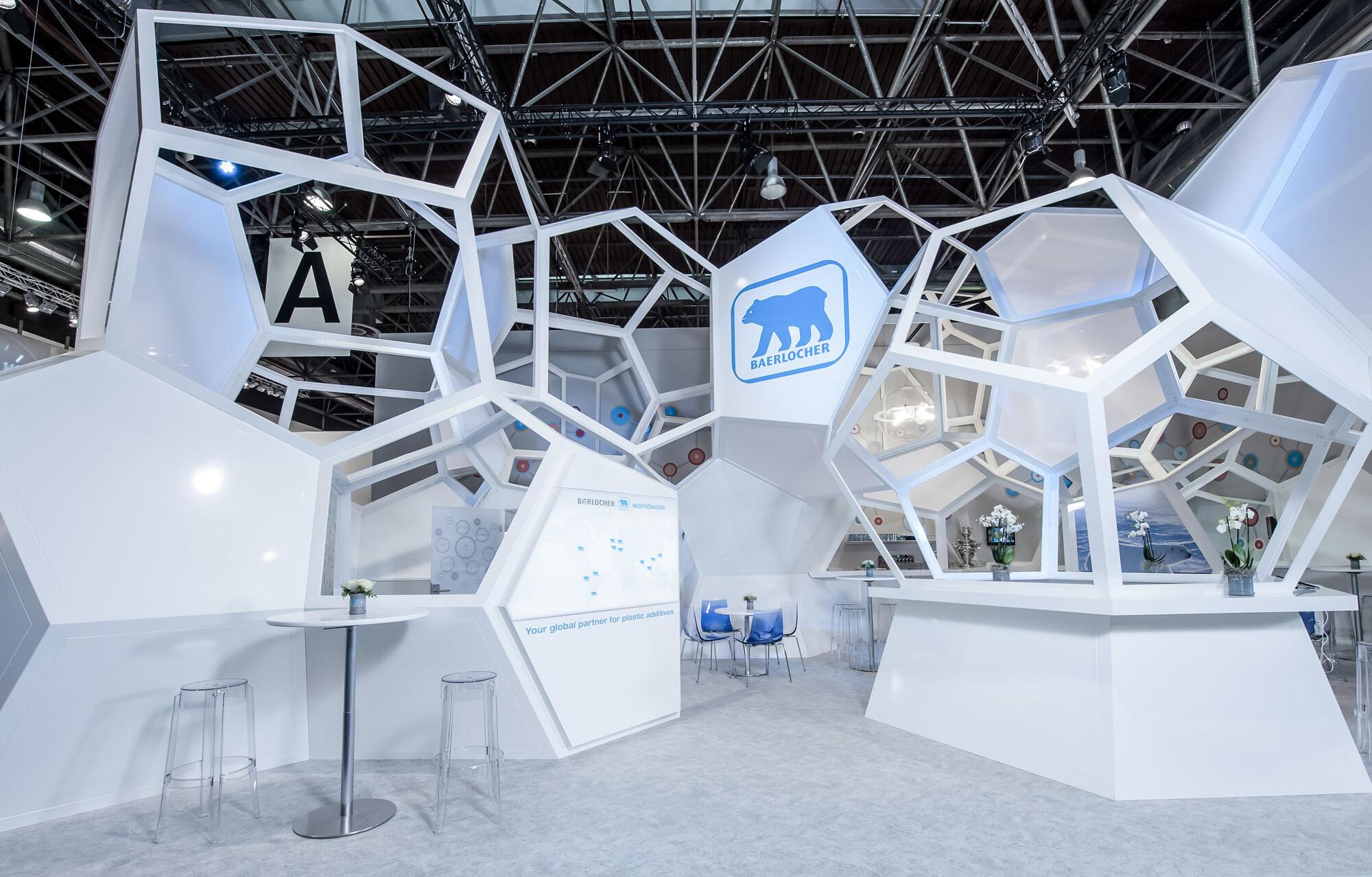 Trade Fair Stands Design : Janoschka fair stand at drupa by ippolito fleitz group