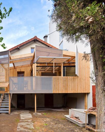 House extension in Alfortville (ALF)