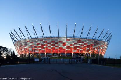 National Stadium in Warsaw