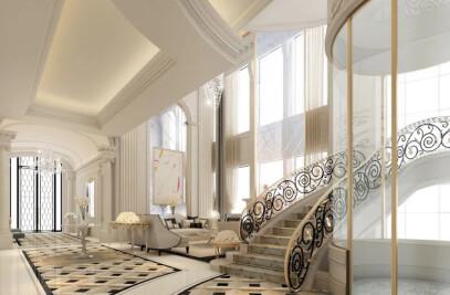 Exploring Luxurious Homes : Lobby Interior Design