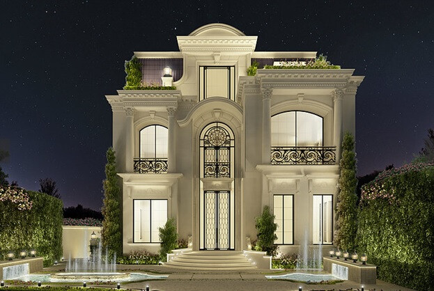 Exploring Luxurious Homes : Enchanting Exterior Architecture