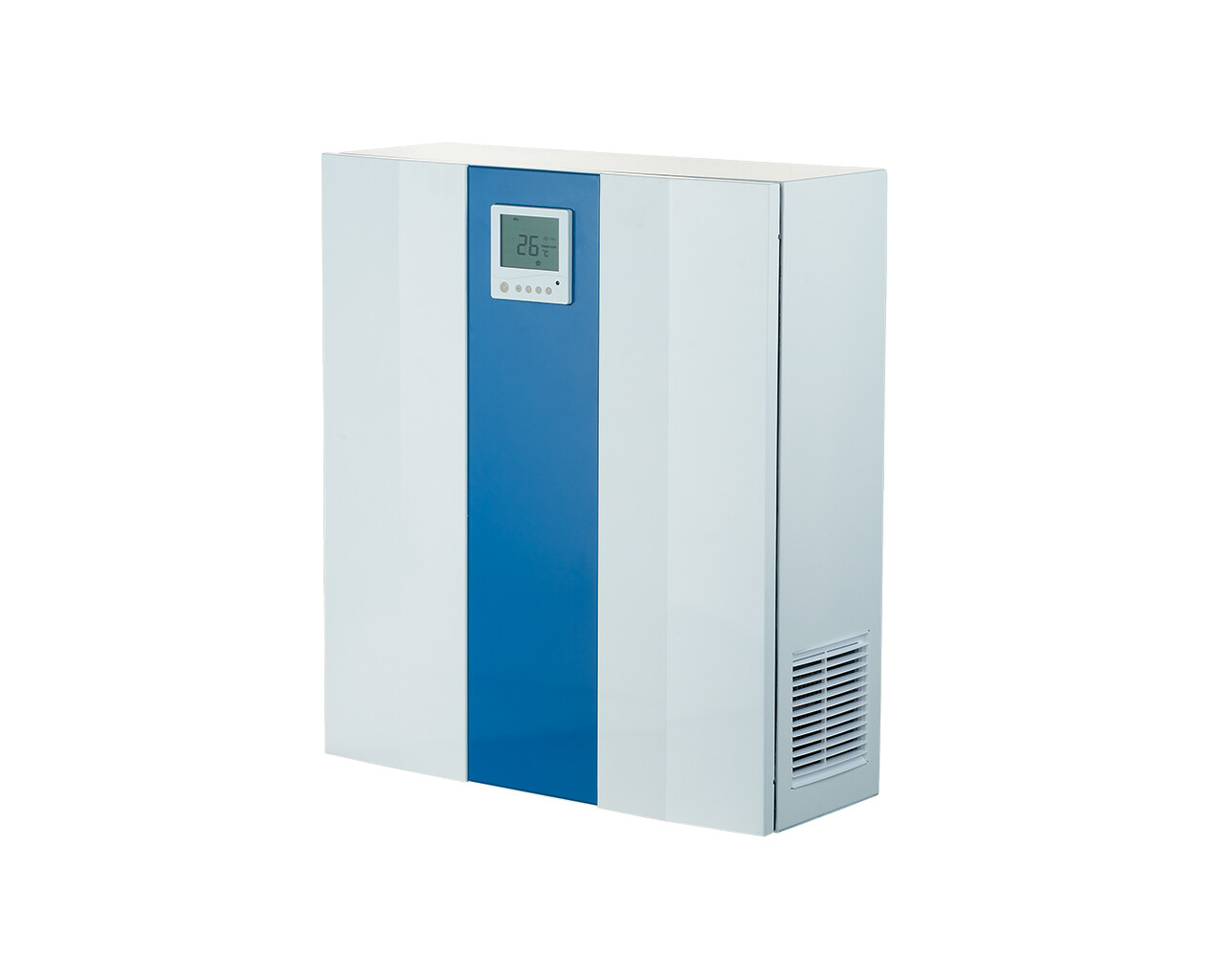 Single room air handling units with heat recovery