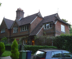 Existing front view of 19th Century property in Haslemere, Surrey