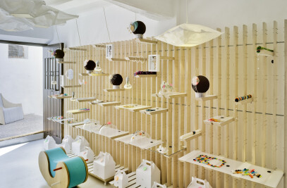Study, workshop, showroom and gallery in Altea
