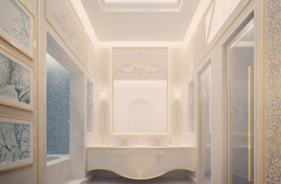 Exploring Luxurious Homes : Exquisite WC Room Desi