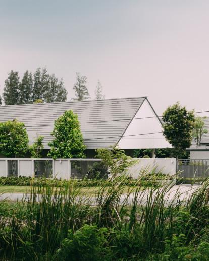 The Triangle house
