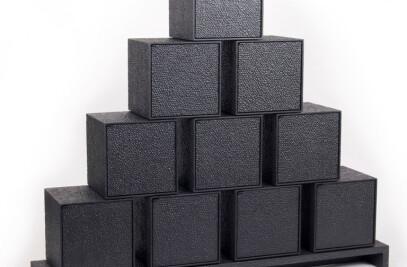 10 Squares Cabinet
