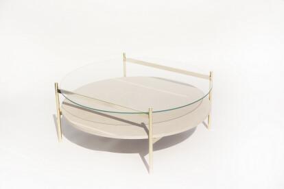 Duotone Circular Coffee Table 35