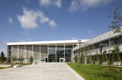 ENSTA, ParisTech engineering school's (Ecole Nationale Supérieur des Techniques Avancées), construction on Ecole Polytechnique