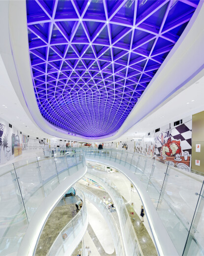 Gemdale Lake Town Dajing Shopping Mall Lighting Design