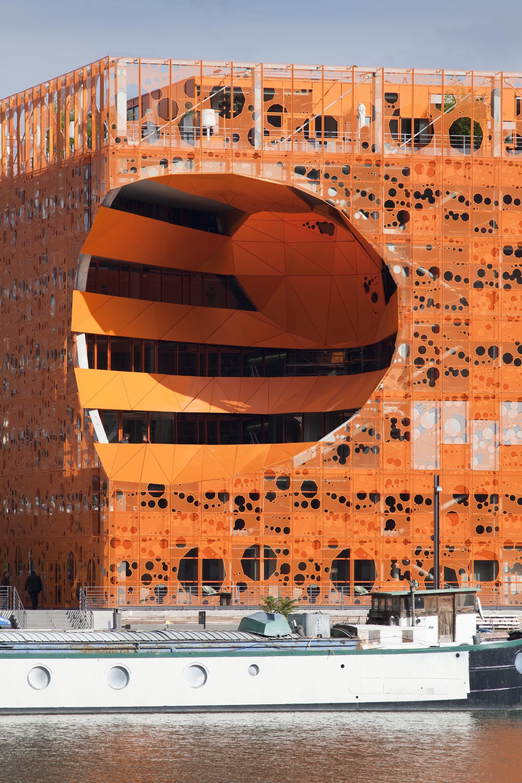 The Orange Cube