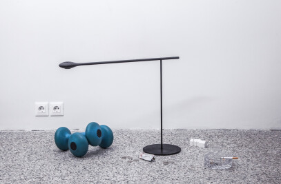 Carbon Light Table Lamp