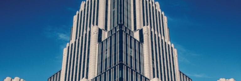 The Oruzheyniy building in Moskou