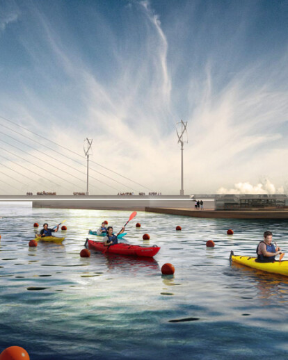 New Masterplan For The Old Port of Patras