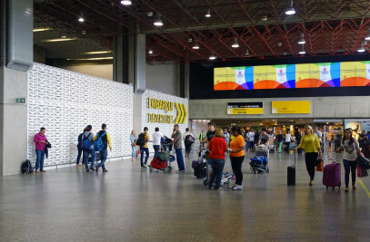RETROFIT of Passenger Terminals 1 and 2 of the Guarulhos International Airport