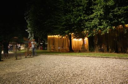 Chill-out pavilion