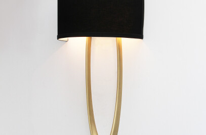 Modern Elliptical Sconce