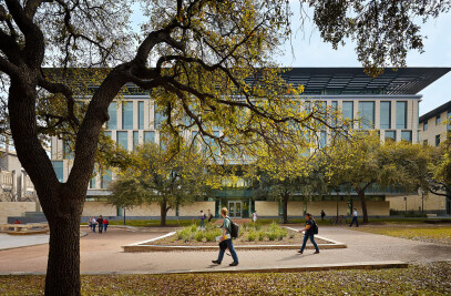 The new Liberal Arts Building at UT Austin