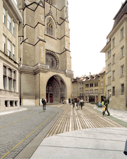CITY CENTER OF FRIBOURG