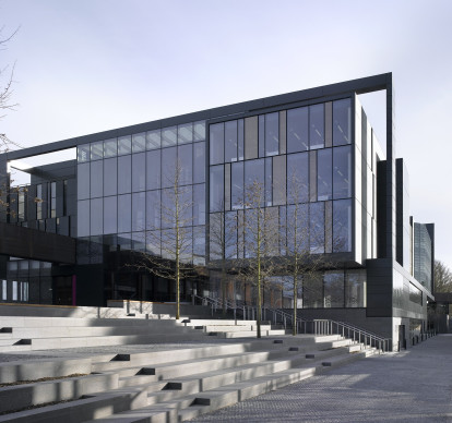 Oxford Brookes University John Henry Brookes and Abercrombie Building