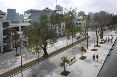 Urban of Regeneration of Presidente Masaryk Avenue
