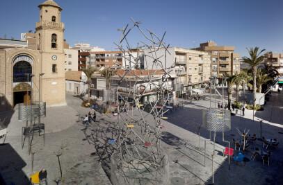 Main Street and Square. Pilar de la Horadada