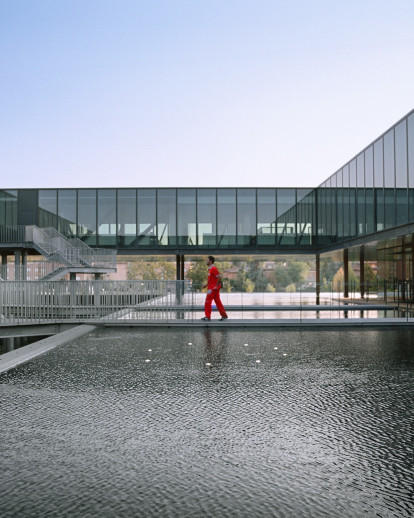 Ferrari Operational Headquarters Studio Fuksas Archello