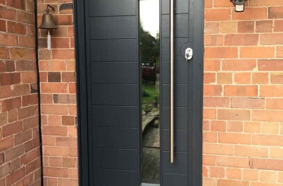 Contemporary Door Installation