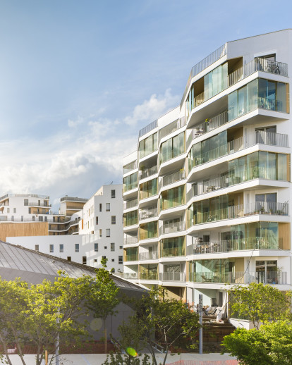 Boulogne B4C – Collective housing in Boulogne Billancourt