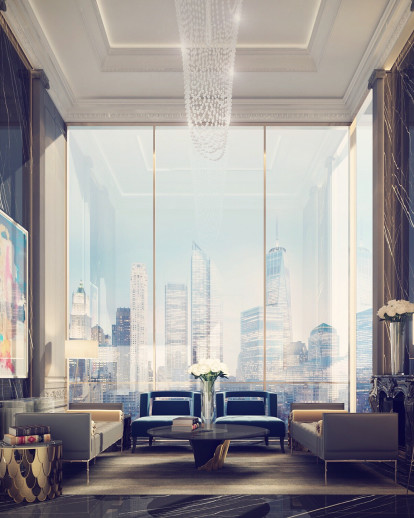 Penthouse Sitting Room Design