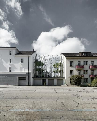 Umbau Stadthaus & Neubau Balkonstruktur Zürich