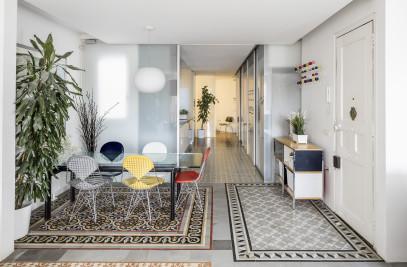 Reforma vivienda Eixample Barcelona
