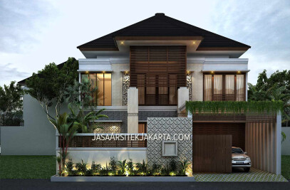 Luxury House Design for Mrs Hasan, Jakarta