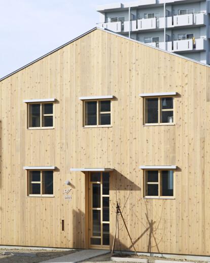 Clinic Made of Plain Wood Base
