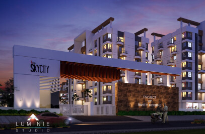 "Baheti Housing - ""Hrim Skycity"""