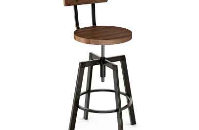 Architect Swivel Barstool