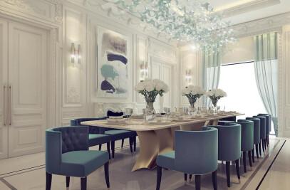 Sumptuous Dining Room Design