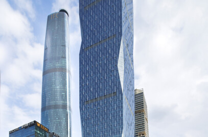 R&F Yingkai Square Mixed-Use Tower With Park Hyatt Guangzhou Hotel