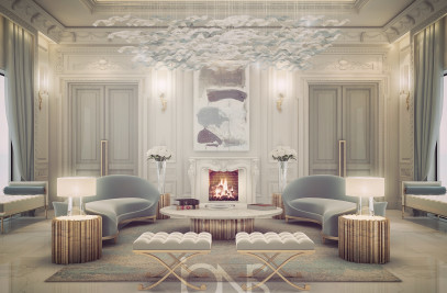 Vibrant Lounge Room Design