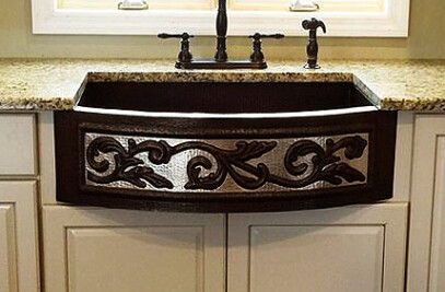 Two-Tone Scroll Sink