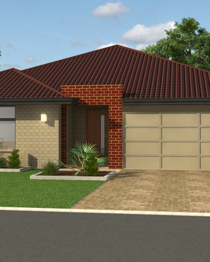 3d Exterior House Designs: Project Sample Of 3D Exterior Home Design