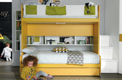 Slide Bunk Bed