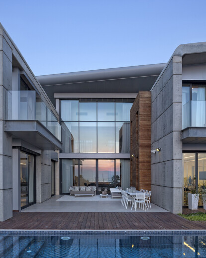 A Seafront Villa