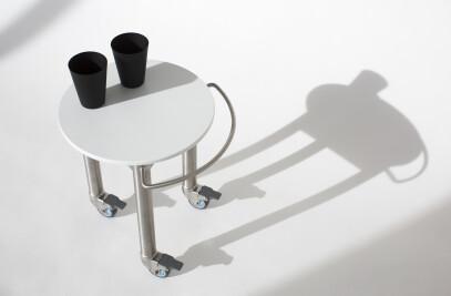 Stool/Side Table Trolley