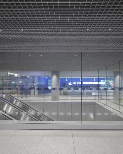 Mezzanine Level Munich Central Station