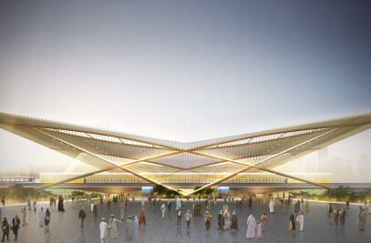 Dubai 2020 rail link