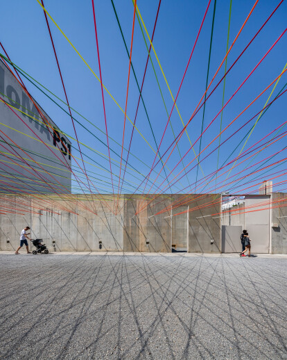 MoMA PS1 YAP 2016 - Weaving the Courtyard