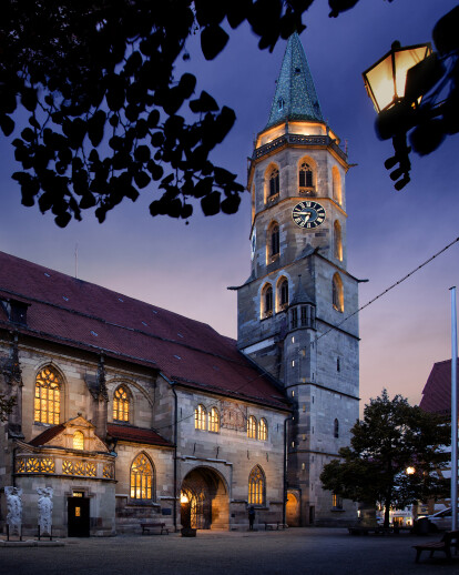 Restoration of Schorndorf's municipal church