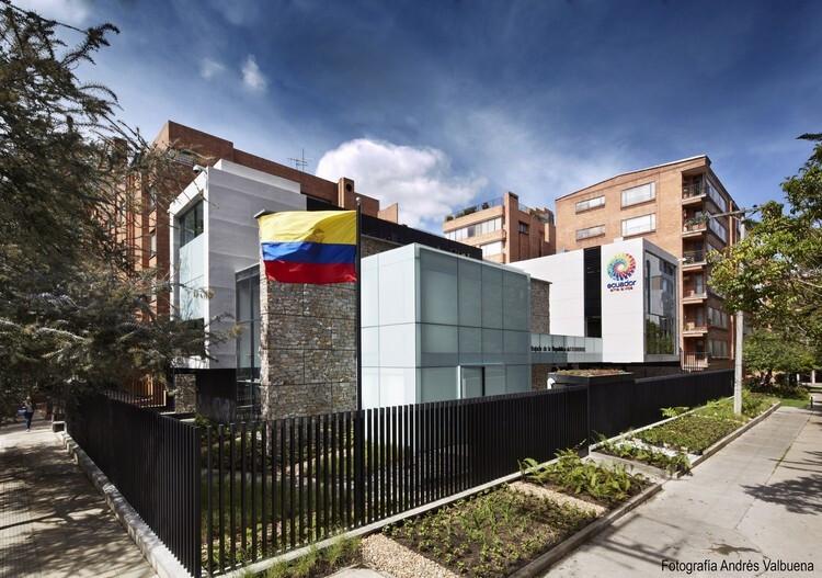 Ecuador embassy in Bogota